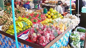 Talad Thai Grossmarkt, Bangkok - Thailand