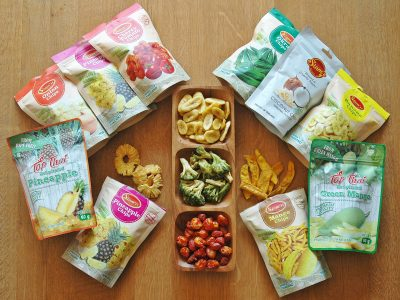 getrocknete Chips Siam Fresh